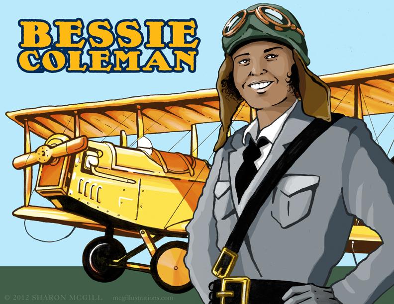 wonder woman bessie coleman